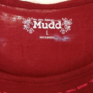 Mudd Tops - Cold Shoulder Tee